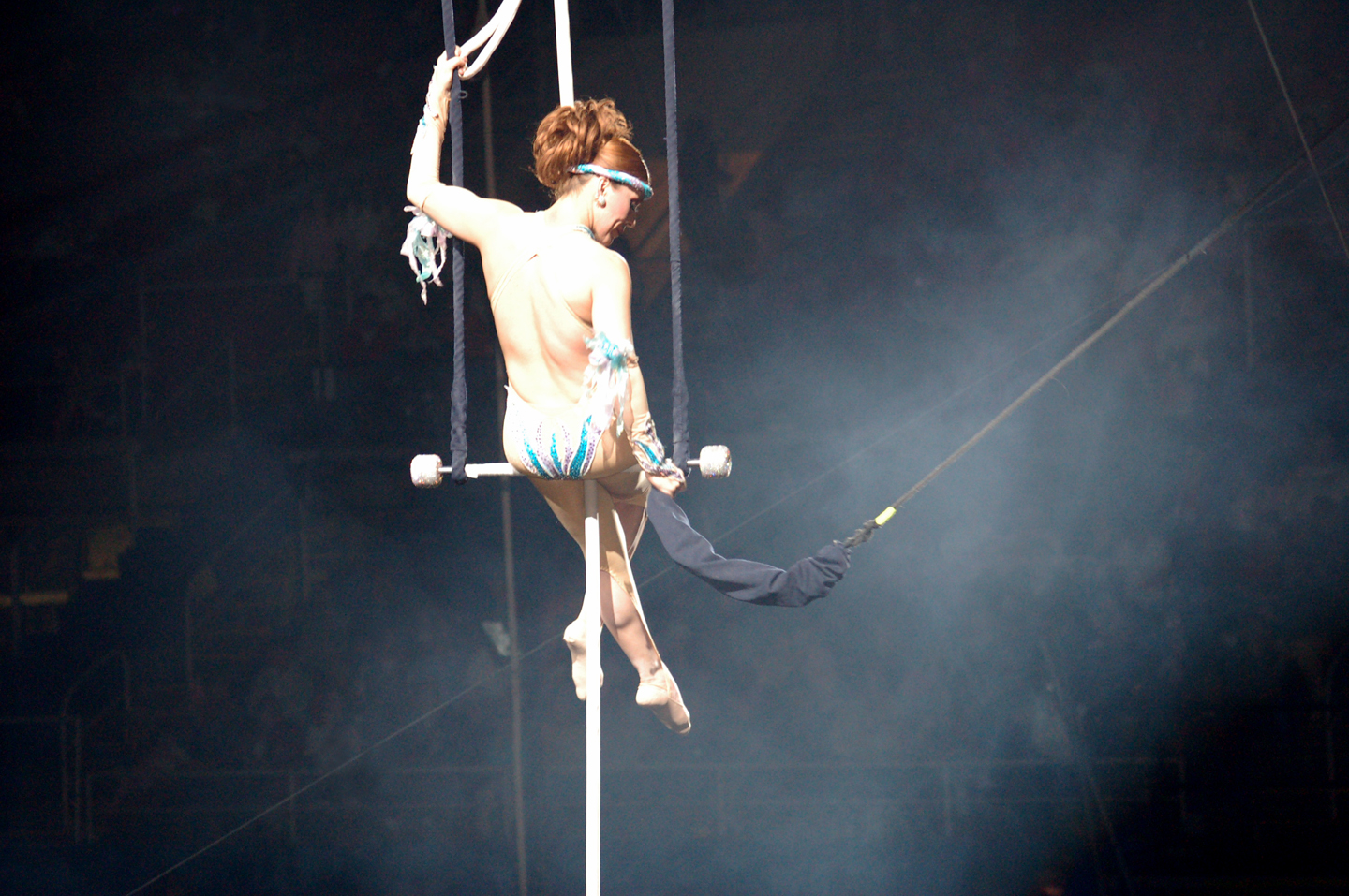 We all worry about the leap from the trapeze.